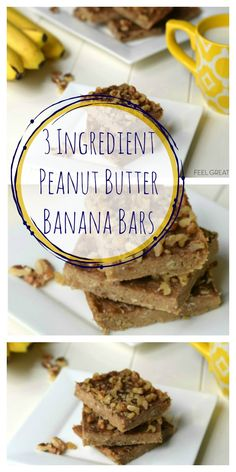 Factors You Need To Give Thought To When Selecting A Saucepan 3 Ingredient Peanut Butter Banana Bars Recipe Healthy Ideas For Kids Healthy Afternoon Snacks, Healthy Snacks For Kids, Healthy Foods To Eat, Healthy Desserts, Healthy Drinks, Kid Snacks, Healthy Man, Healthy Recipes, Vegan Foods