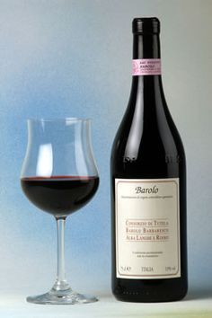 Italian's red wine, Barolo;