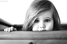 black and white child photography -