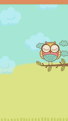 Cute Backgrounds, Cute Wallpapers, Iphone Wallpapers, Owl Wallpaper, Background Powerpoint, Paper Owls, Black Smoke, Cover Photos, Art Drawings