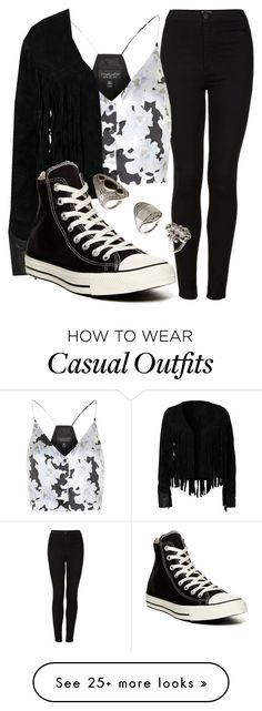"""""""*REQUEST* Inspired Perrie Casual Date"""" by littlemix-beautstyle on Polyvore featuring Topshop, Converse and H&M"""