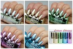 Models Own Colour Chrome Collection - Review & Swatches http://www.lucysstash.com/2015/01/models-own-colour-chrome-collection-review-swatches.html