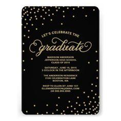 Confetti | Graduation Party Invitation