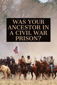 If you think your ancestor might have been held at the Andersonville prison camp, be sure to check the link in my article that leads to a free database. #genealogy #civilwar