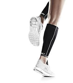 2XU Compression Calf Guards Blacked Out L - http://all-shoes-online.com/2xu/large-2xu-compression-calf-guards-steel-black-x