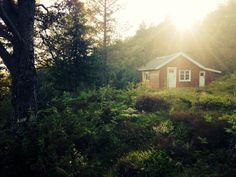 The old cabin in Skodje, Norway