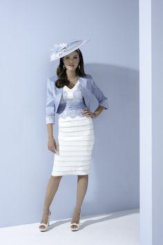 Ispirato Dress & Jacket IW955, colour Cream Sky.