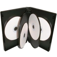 100 x 6 WAY DVD CD MULTICASE CASE CLEAR PLASTIC SLEEVE