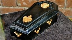 Casket cake from Conjurers kitchen