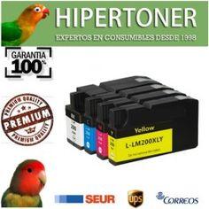 por fin llegaron los cartuchos de tinta compatibles para Lexmark 200 xl de alta capacidad, los vi en Hipertoner.es , una tienda de confianza donde comprar cartuchos de tinta y toners compatibles de buena calidad.