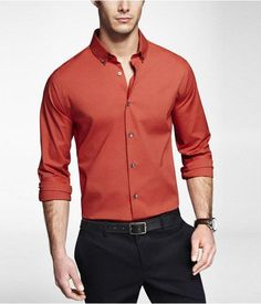 Very very nice. Express Mens Extra Slim Shirt! This rocks!