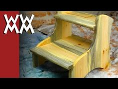 Woodworking for Mere Mortals: Free woodworking videos and plans. : Easy 2-step step-stool
