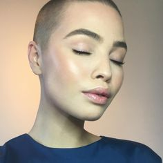 25+ Fierce Ladies Who Have Embraced the Buzz Cut - skin, brows, and buzz cut goals