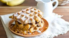 You CAN eat pie for breakfast when it's stuffed inside a cinnamon roll and waffled to golden perfection.