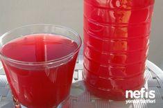 Ev Yapımı Karışık Meyve Suyu Mixed Fruit Juice, Alcoholic Drinks, Beverages, Homemade Beauty Products, Summer Drinks, Food And Drink, Eat, Tableware, Kitchen