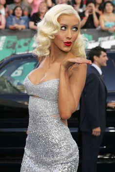 dress sexy Christina aguilera
