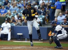 Francisco Cervelli Photos - Pittsburgh Pirates v Milwaukee Brewers - Zimbio