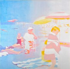 Luminous paintings of Isca Greenfield-Sanders. http://www.iscags.com