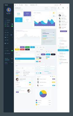 Web Design Dashboard Interface, Web Dashboard, Analytics Dashboard, Ui Web, Dashboard Design, User Interface Design, Site Design, App Design, Flat Web Design