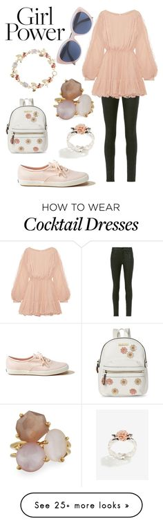 """Girl power"" by kawiicat on Polyvore featuring Frame, LoveShackFancy, Tiffany & Co., Ippolita, Kenneth Cole Reaction, Hollister Co. and Victoria Beckham"