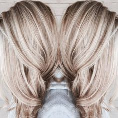 ideas for hair color blonde platinum balayage haircuts - Hair Colors Blonde Ideen Brown Blonde Hair, Platinum Blonde Hair, Blonde Fall Hair Color, Red Hair, Blonde Hair With Dark Highlights, Blonde Hair For Fall, Dark Hair, Dying Hair Blonde, Blonde With Brown Lowlights