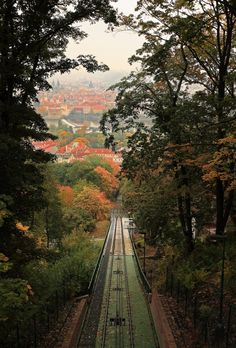 Been on that funiculaire! (I think?) Petrin Hill, Prague (by jp1958)