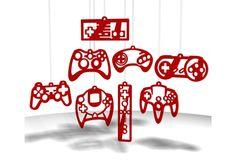 Joysticks para el arbolito - Navidad Geek #pinspiration