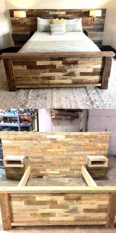 Wonderful Wooden Pallets Bed Projects By Gabriela Furniture