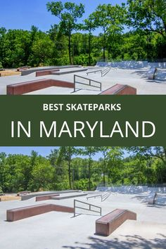 When you think of skateparks in Maryland you more than likely think of the capitol and largest city Baltimore. While there are a few nice skateparks in the state's capital, it is the surrounding cities and suburbs of Maryland where you will actually find the best skateparks. Travel Around The World, Around The Worlds, The Hundreds, Skate Park, Maryland, Landscape, Usa, Nice, Places