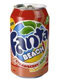 Fanta Beach Strawberry and Kiwi