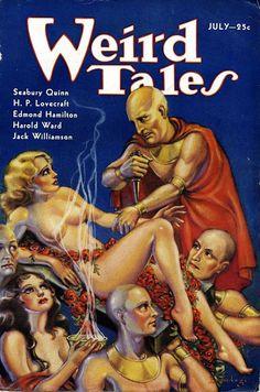 Weird Tales with H. P. Lovecraft   Lovecraft pulp