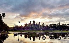 You say that it is always darkest before dawn, I say there would be no dawn without darkness. This is the famous Angkor Wat at sunrise. Picture taken by me #DeeDevan #IamDeeDevan #ThirdCultureWoman #photooftheday #inspiration#angorwat #cambodia #travelgram #travel #traveling #travelphotography #regram #instagram #instagood #instatravel #quotes #sunrise #reflection