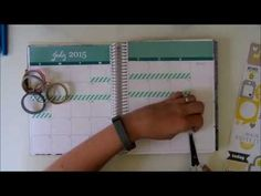 July Monthly Layout   Plan With Me - YouTube
