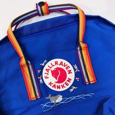 Diy Embroidery Designs, Cute Embroidery, Kanken Backpack, Stitches, Contrast, Backpacks, Create, Clothing, Accessories