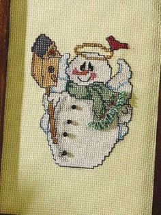 Cross-Stitch - Special Occasions - Christmas Cross-stitch Patterns - Snow Angel's Friend - #FX00203