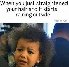 22 Memes That Are Way Too Real For People With Curly Hair hair problems 22 Memes That Are Way Too Real For People With Curly Hair Natural Hair Memes, Curly Hair Tips, Curly Hair Styles, Natural Hair Styles, Curly Hair Jokes, Curly Afro, Wavy Hair, Short Hair, Black Girl Problems