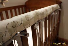 Cot railing(teething) guard