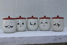 Eastern Expressions  Vintage Faces tea cup by theartlyons, these are great and would look great on display