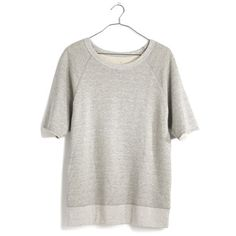 We've got a thing for soft old-school tees, so we were off-the-charts excited when we discovered this LA-based line of graphic tees and laid-back pieces—all based on retro gym clothes. The worn-in softness of this slouchy short-sleeve sweatshirt will win you over too. <ul><li>True to size.</li><li>Cotton/poly.</li><li>Machine wash.</li><li>USA.</li><li>Madewell.com only.</li></ul>