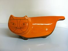 Best Orange Baldelli Cat Bank by dimadesigns on Etsy