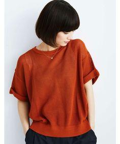 【ZOZOTOWN】haco!(ハコ)のニット/セーター「ロジーズ メッシュ編みプルオーバーニット」(625561)を購入できます。