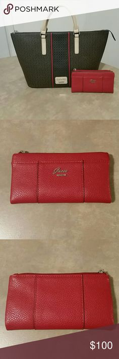 LIKE NEW Guess Bag  amp  Wallet This Guess Bag and wallet set is a great a366435152190