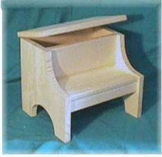 wood step stool - Google Search
