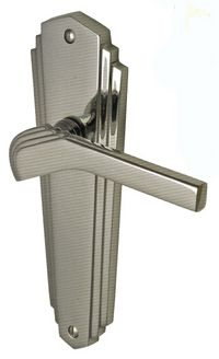 you can actually buy this! And there are other finishes as well. I love it. 11.10.15 - Chrysler Art Deco Lever Handles