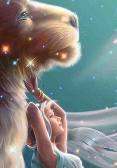 "=^..^=  The Zodiac : Kagaya Fantasy Art   - ""Leo"" (detail)  |   Kagaya  Zodiac Wallpapers"