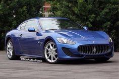 ¡Wow, lo quiero! Maserati GranTurismo Sport.