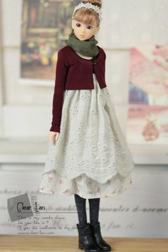 ++ M-201112-16 Burgundy bolero (so sad the dress is sold out T_T)