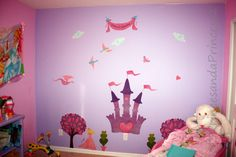 My Wonderful Walls Princess Theme