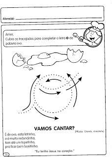 Atividades de Português para o Maternal | Atividades Educativas