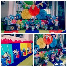 Rio Candy Buffet Party by Voila Functions - www.facebook.com/voilafunctions